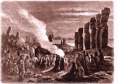 insula pastelui moai